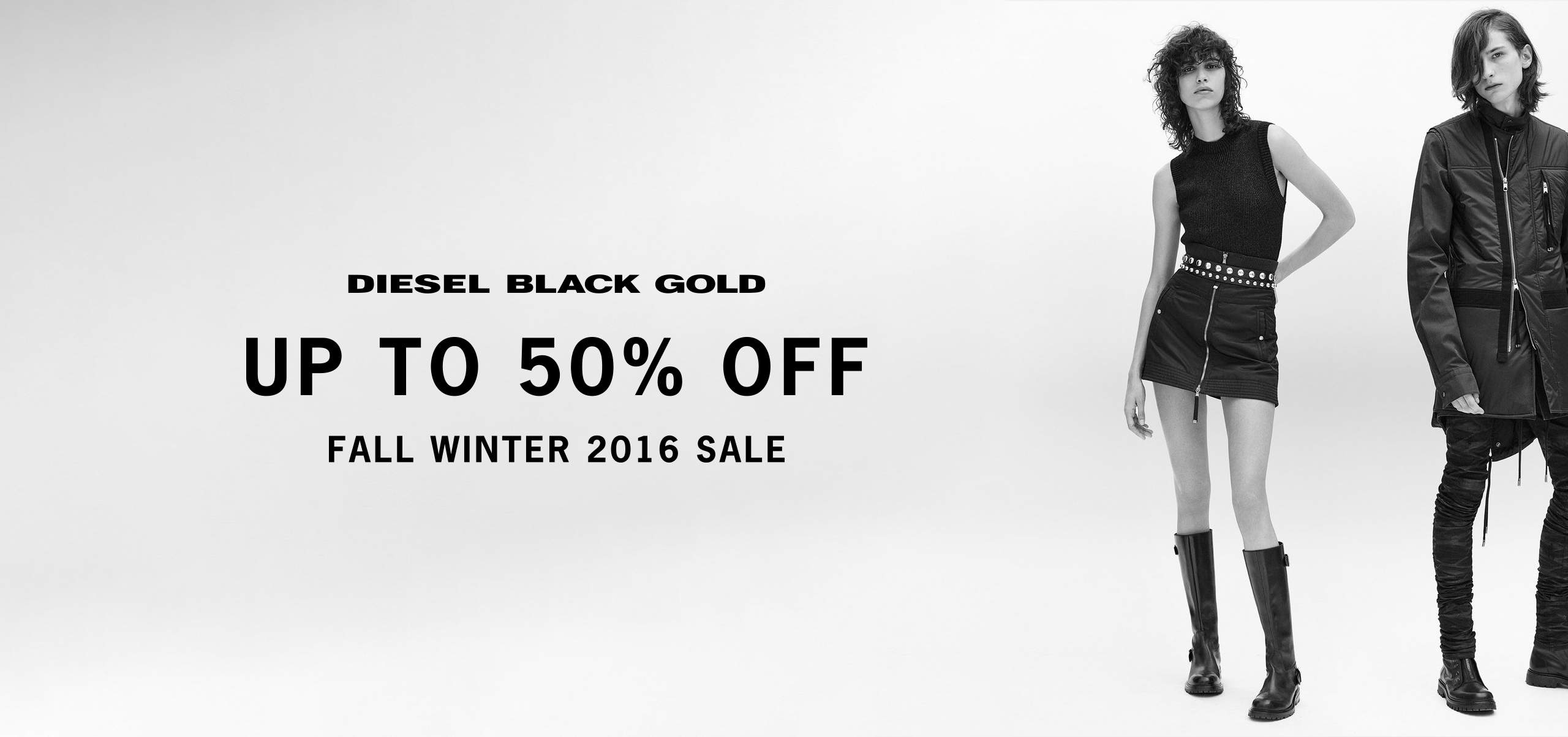 DIESEL BLACK GOLD SALE