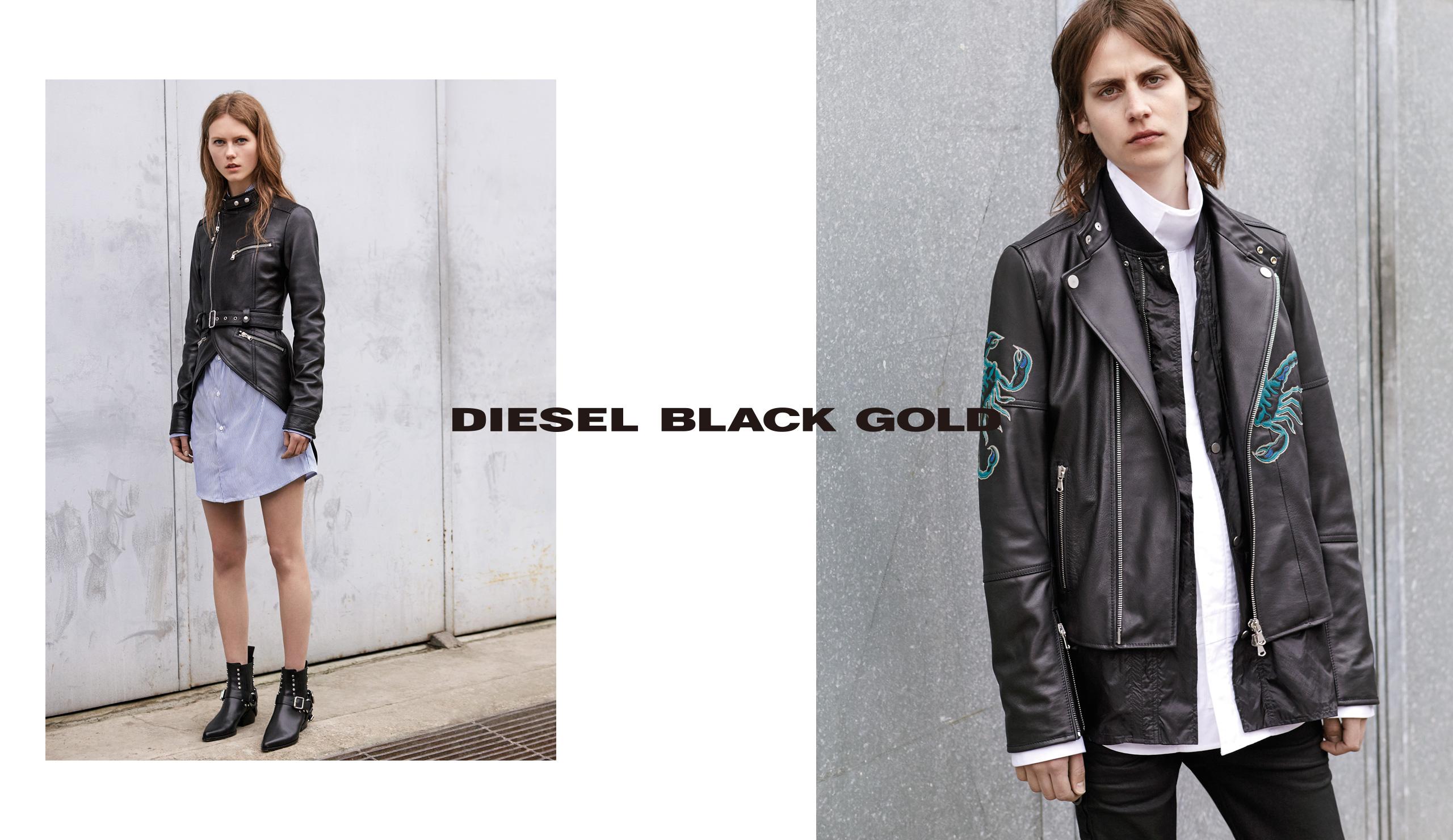 DIESEL BLACK GOLD OUTER LOOK