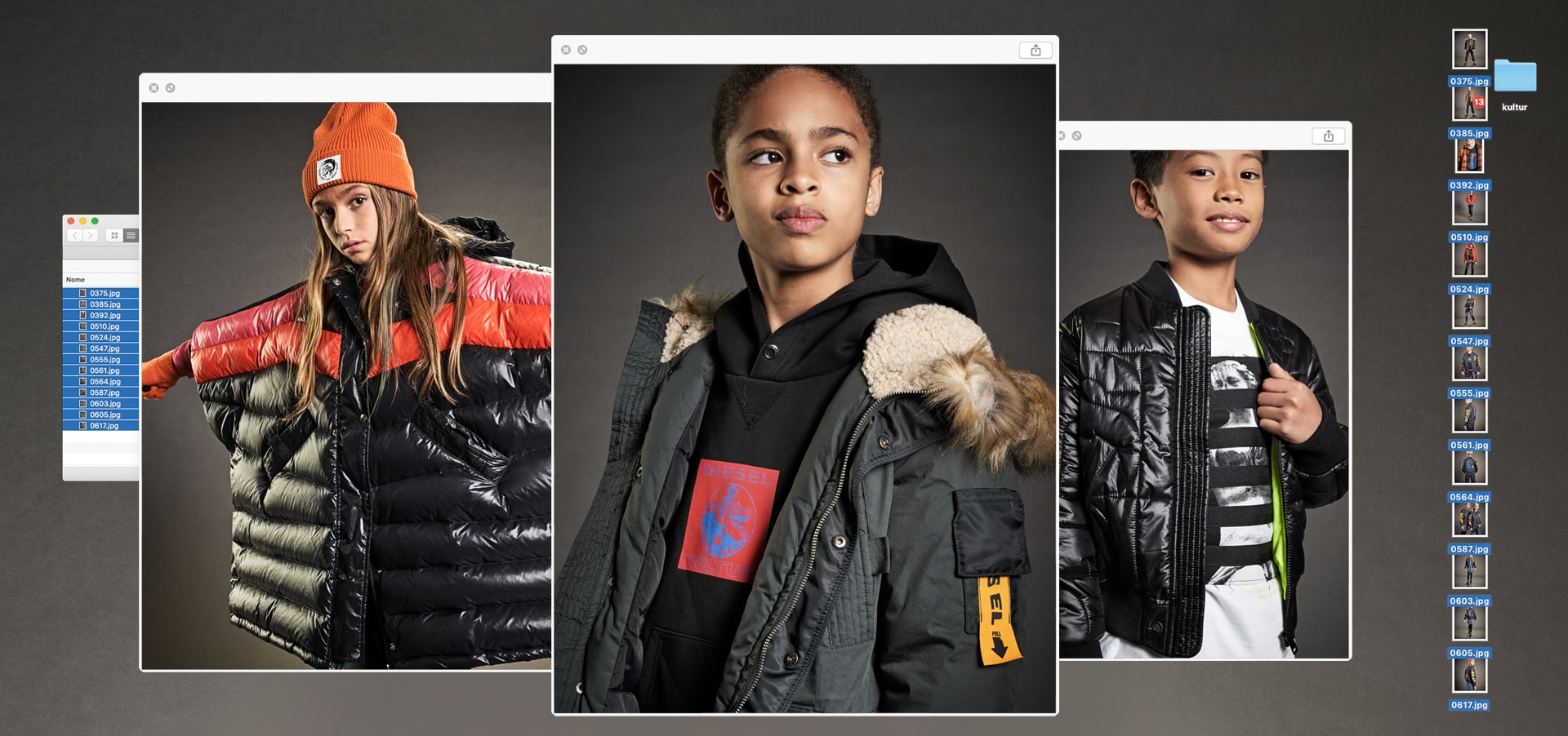 DIESEL KID 2019 WINTER CAMPAIGN