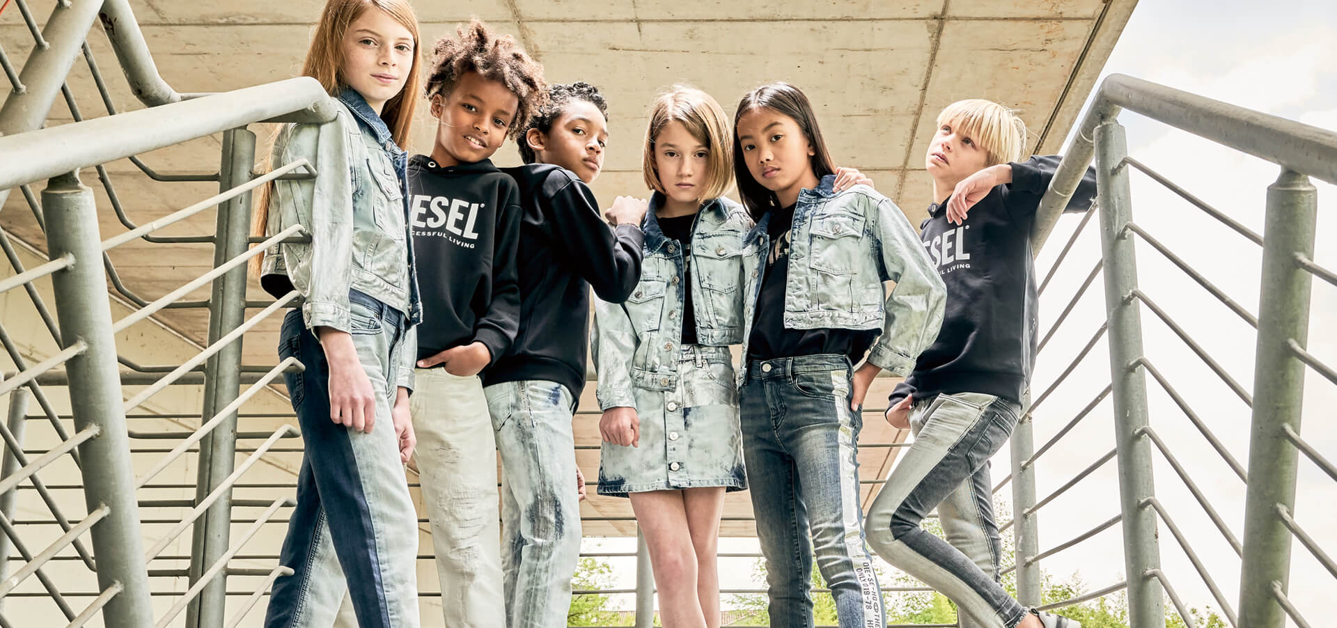 DIESEL KID 2020 SPRING DENIM CAMPAIGN