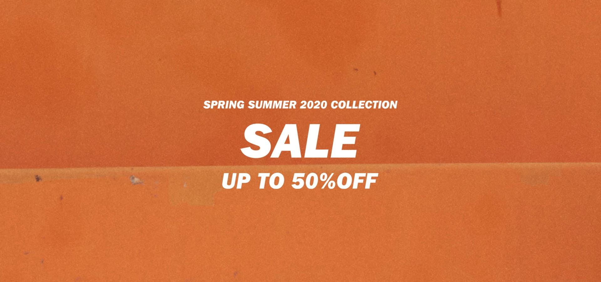 SPRING SUMMER 2020 COLLECTION SALE