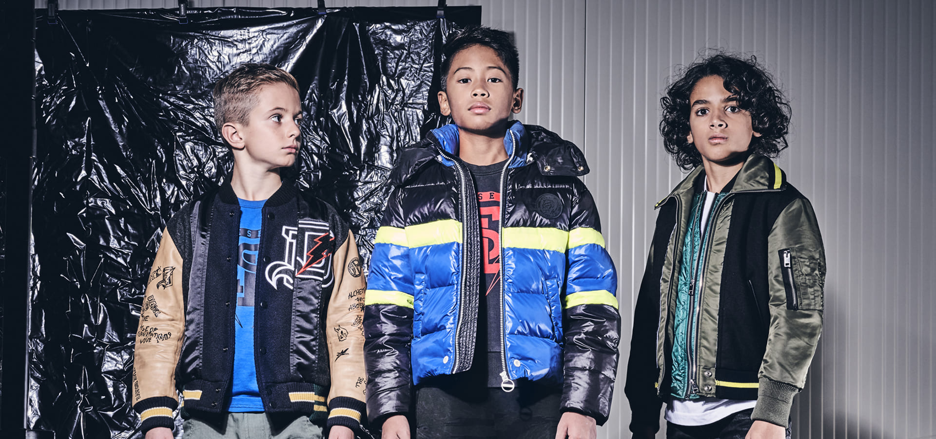 DIESEL KID WINTER CAMPAIGN