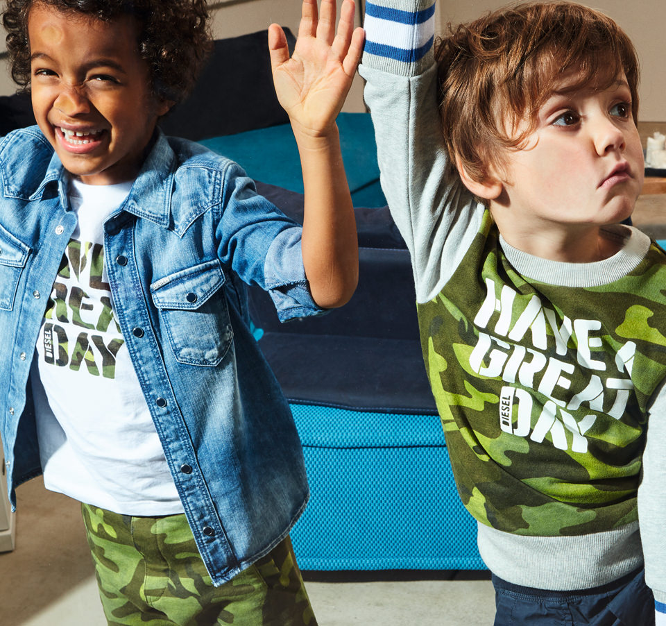 SS17 DIESEL KID BABY COLLECTION