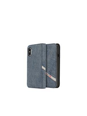 DENIM IPHONE X FOLIO